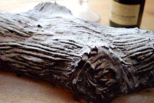 recetas navidad tronco de navidad glass