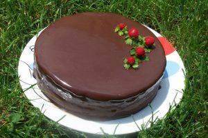 recetas navidad tarta de chocolate negro chef 2000