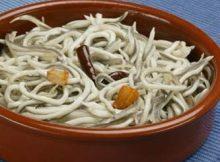 recetas navidad angulas al ajillo