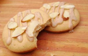 recetas navidad galletas de almendra y queso