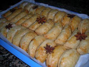 recetas navidad pastelitos de boniato y almendra
