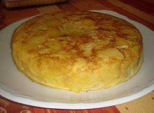 recetas navidad tortilla española chef 2000