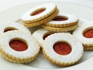 recetas navidad Spitzbuben circulo