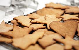 recetas navidad pepparkakor